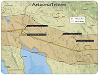 AZ tribal map
