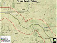 TX tribal map